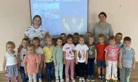 День солидарности в борьбе с терроризмом прошел в детском саду «Страна Чудес»