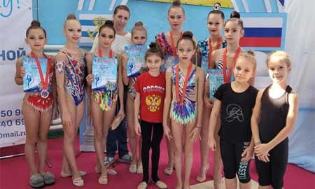 Новые победы Целинских гимнасток